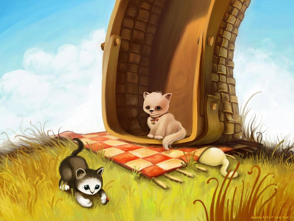 Прикольные картинки с животными рисовать
